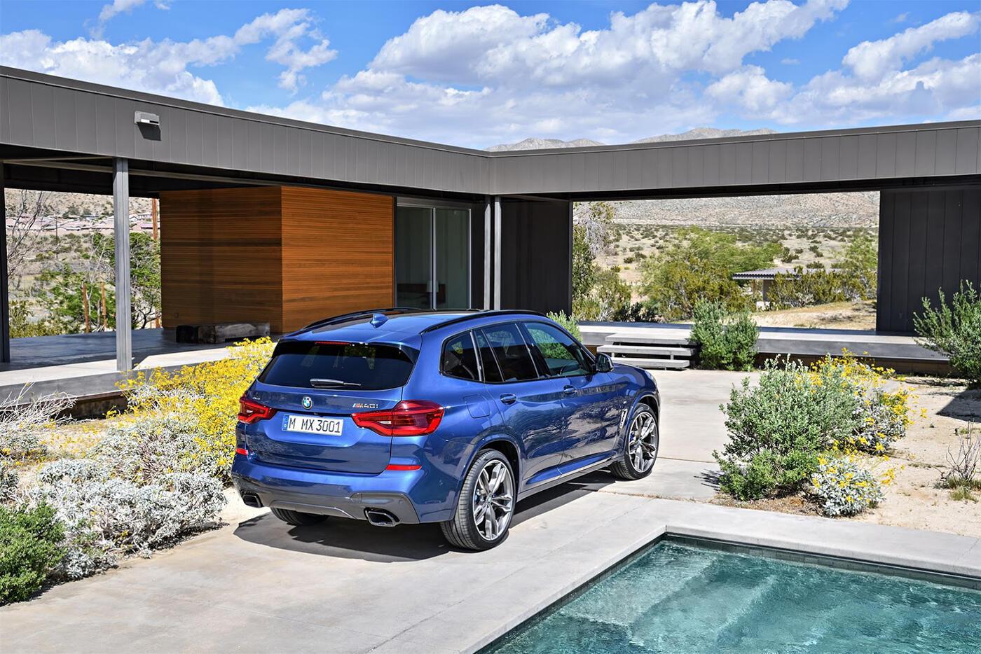 Ảnh chi tiết BMW X3 2018 hoàn toàn mới - Hình 7