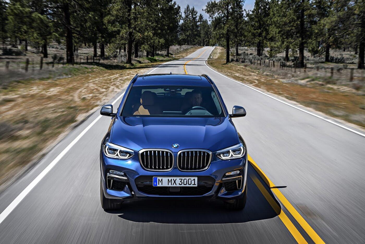 Ảnh chi tiết BMW X3 2018 hoàn toàn mới - Hình 10