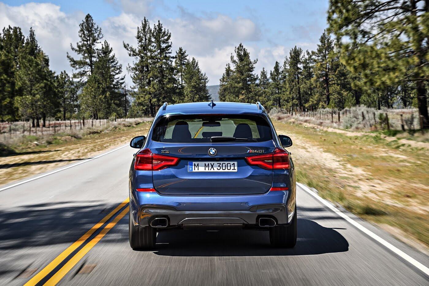 Ảnh chi tiết BMW X3 2018 hoàn toàn mới - Hình 11