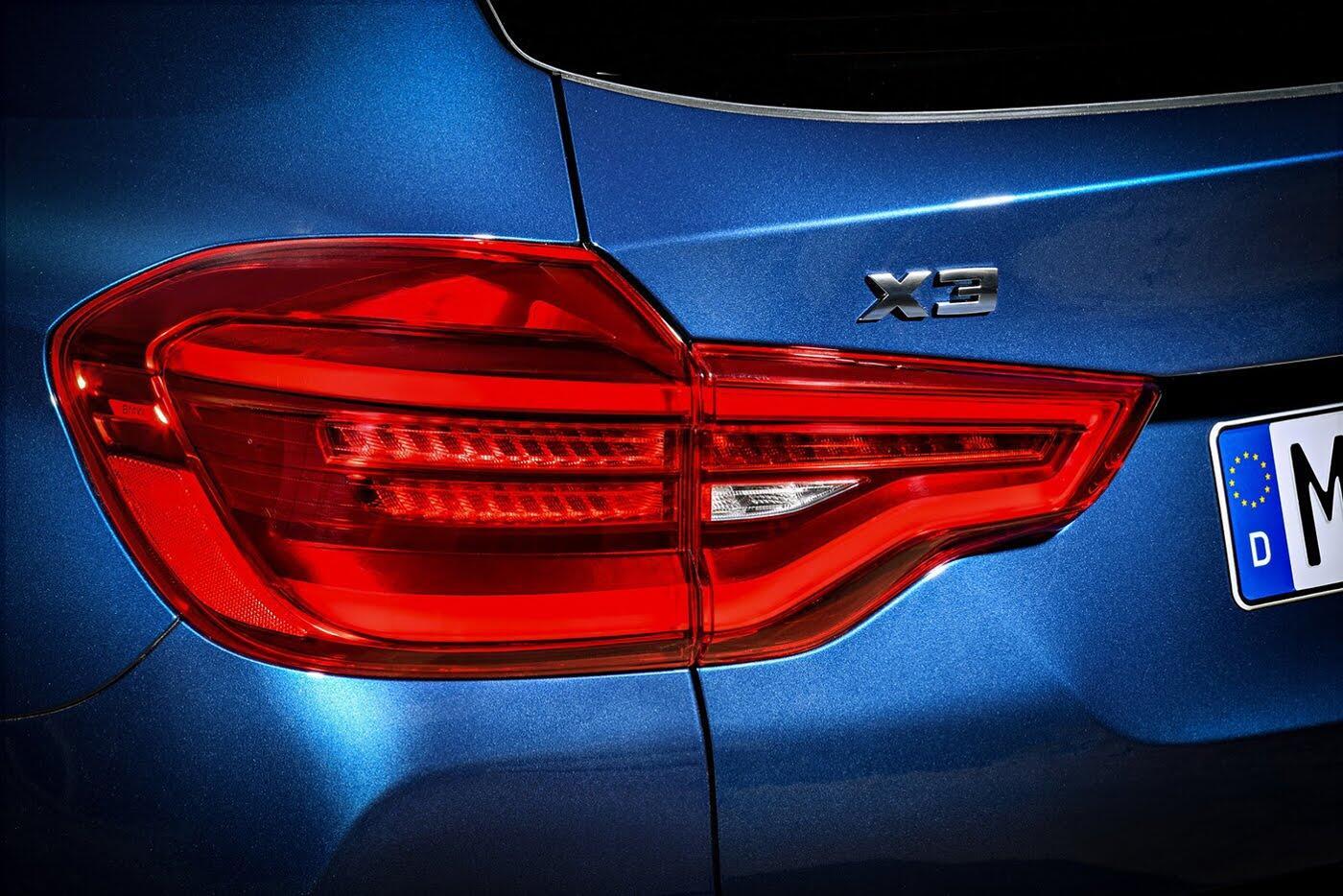 Ảnh chi tiết BMW X3 2018 hoàn toàn mới - Hình 15