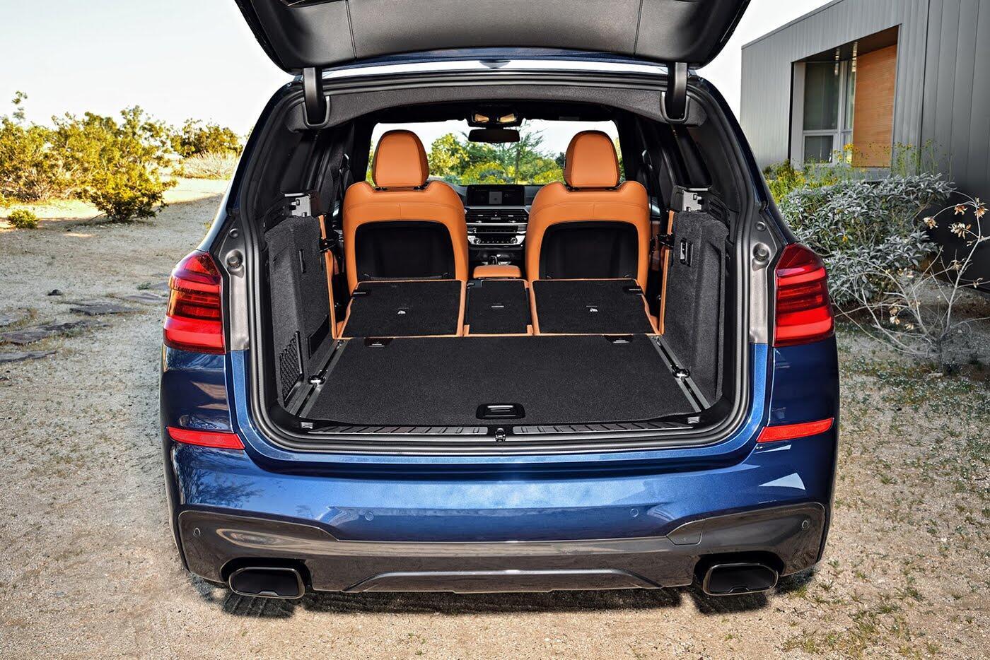 Ảnh chi tiết BMW X3 2018 hoàn toàn mới - Hình 21