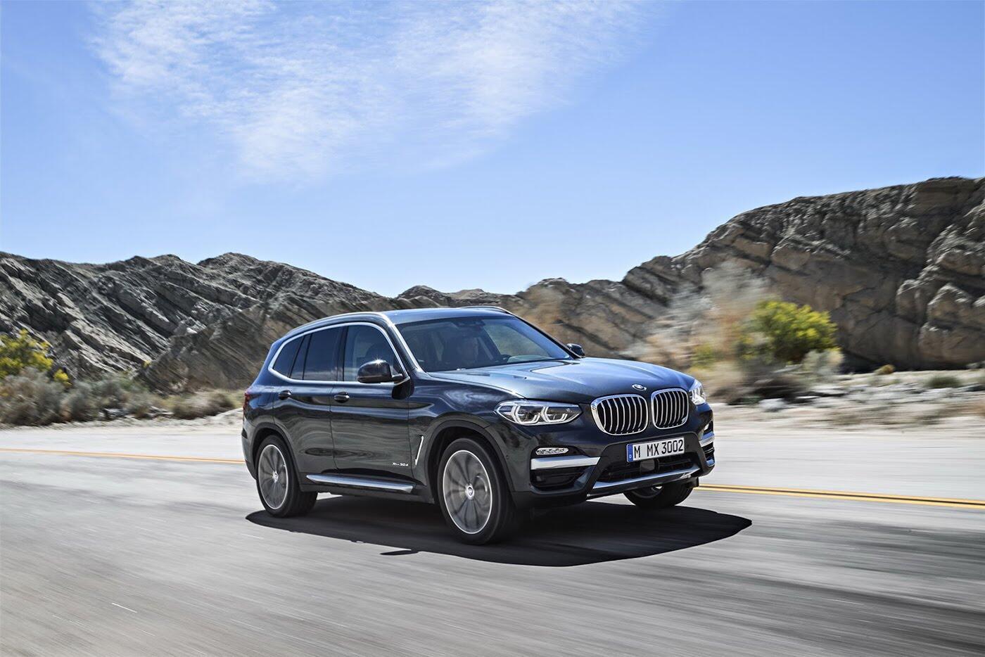 Ảnh chi tiết BMW X3 2018 hoàn toàn mới - Hình 23
