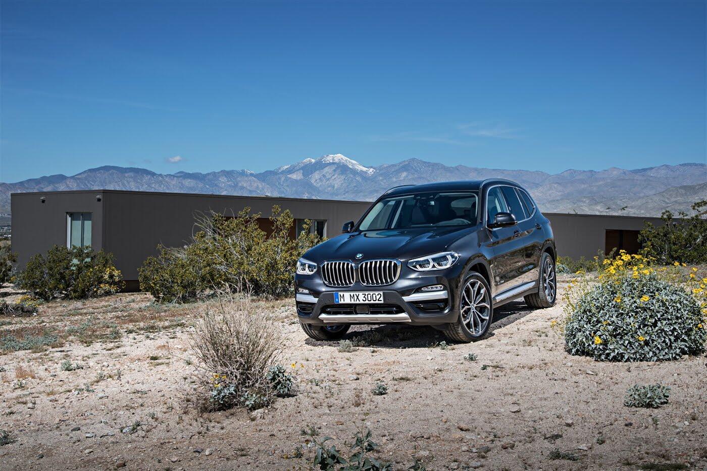 Ảnh chi tiết BMW X3 2018 hoàn toàn mới - Hình 24