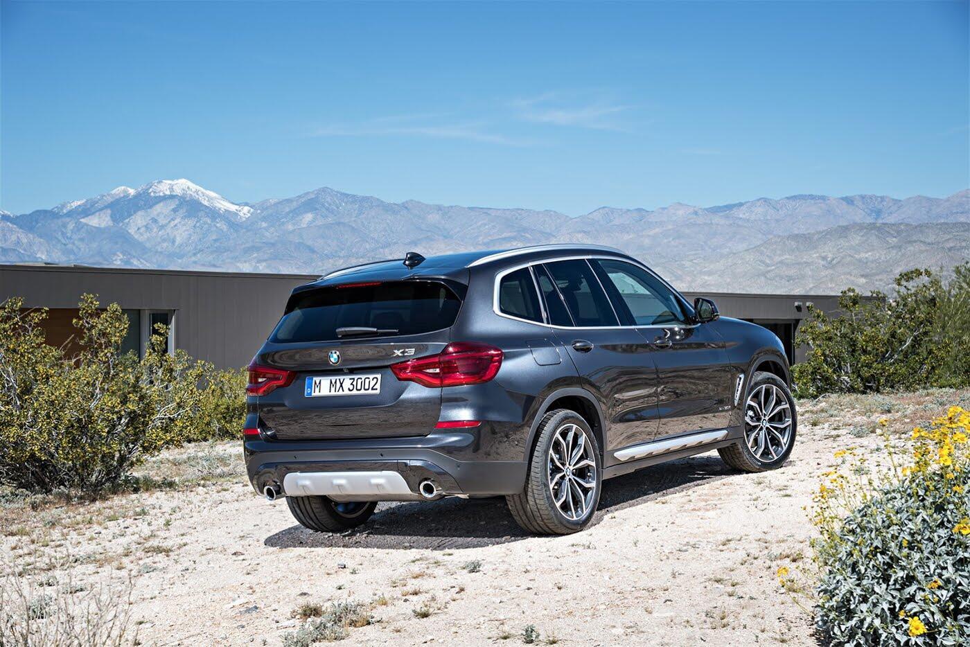 Ảnh chi tiết BMW X3 2018 hoàn toàn mới - Hình 26