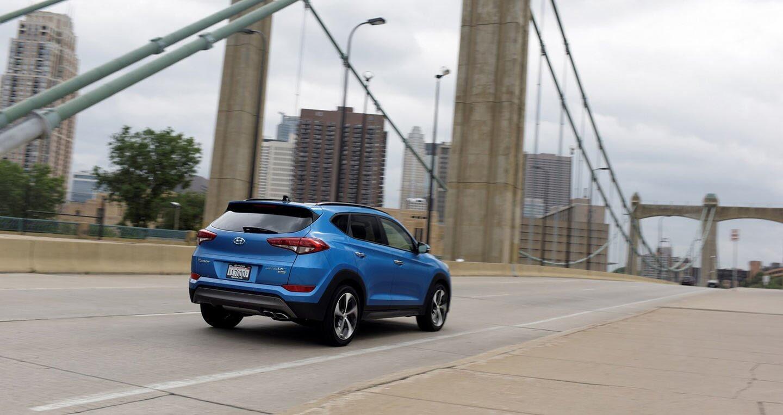 Ảnh chi tiết Hyundai Tucson 2018 - Hình 8