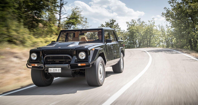 Ảnh chi tiết Lamborghini LM002 - Hình 2