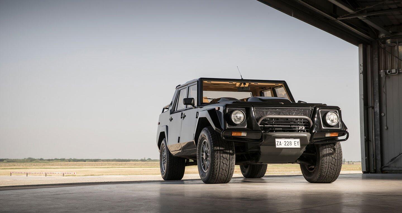 Ảnh chi tiết Lamborghini LM002 - Hình 4