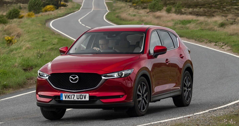 Ảnh chi tiết Mazda CX-5 2017 tại Anh quốc - Hình 3