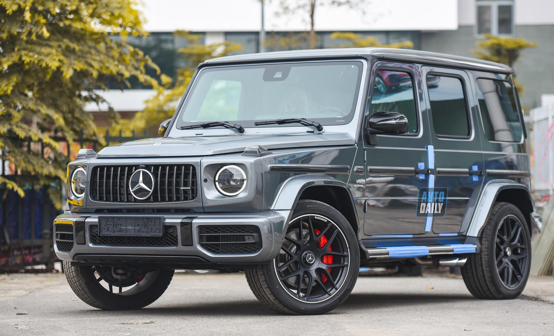 Ảnh chi tiết Mercedes G63 AMG 2021 bản cá nhân hoá giá khoảng 12 tỷ [1]