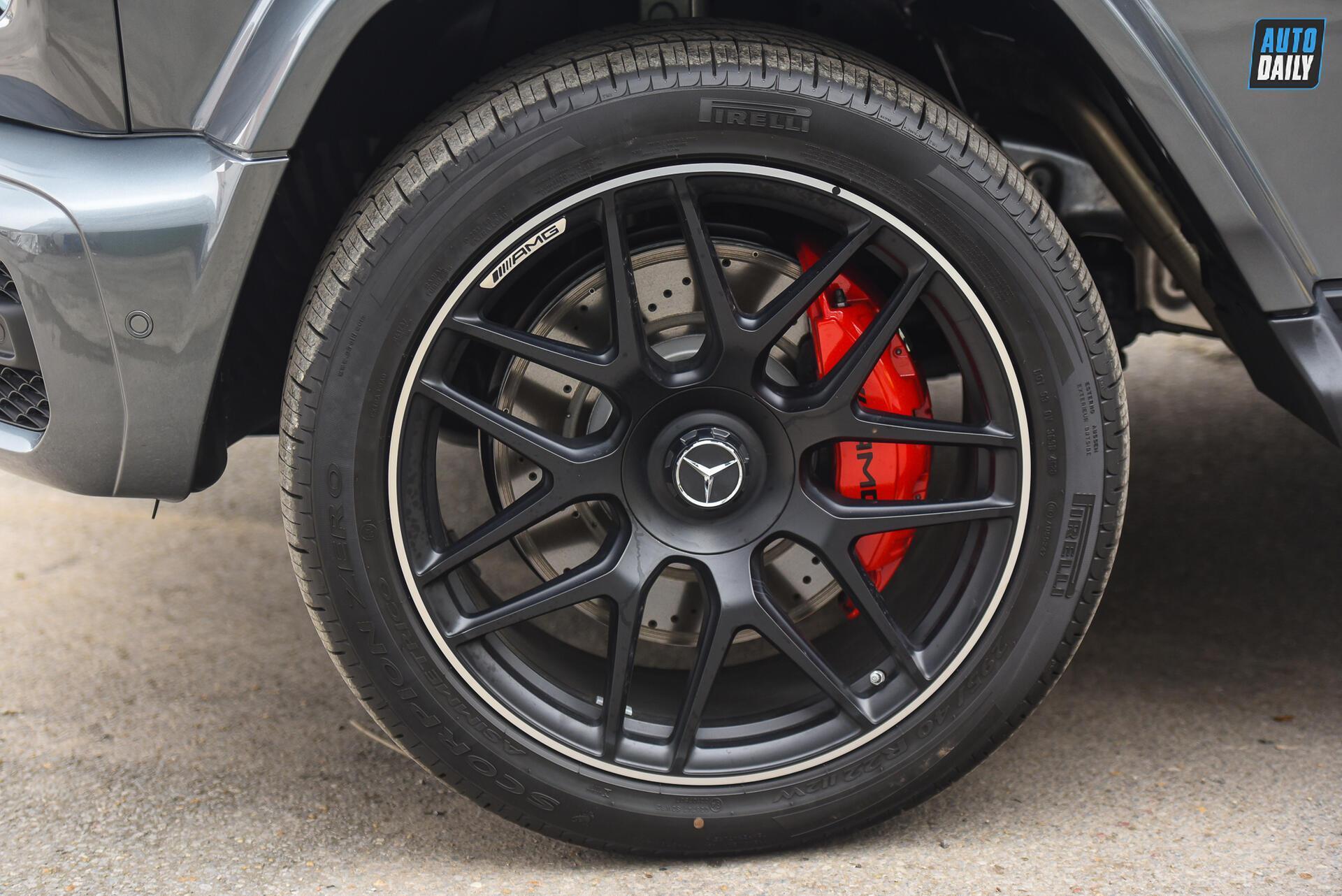 Ảnh chi tiết Mercedes G63 AMG 2021 bản cá nhân hoá giá khoảng 12 tỷ [10]