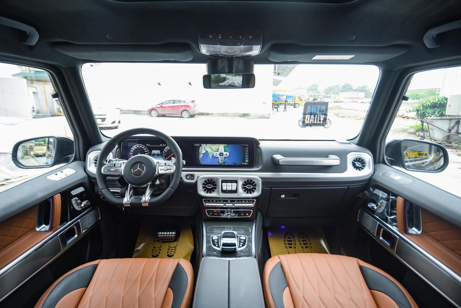 Ảnh chi tiết Mercedes G63 AMG 2021 bản cá nhân hoá giá khoảng 12 tỷ [11]
