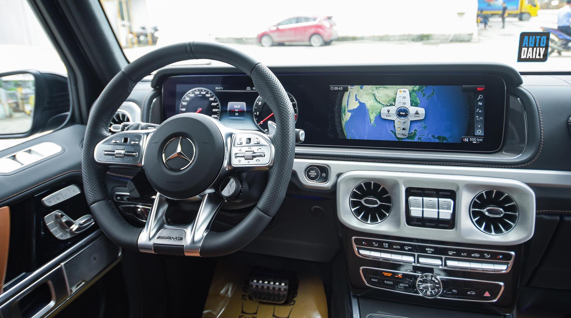 Ảnh chi tiết Mercedes G63 AMG 2021 bản cá nhân hoá giá khoảng 12 tỷ [12]