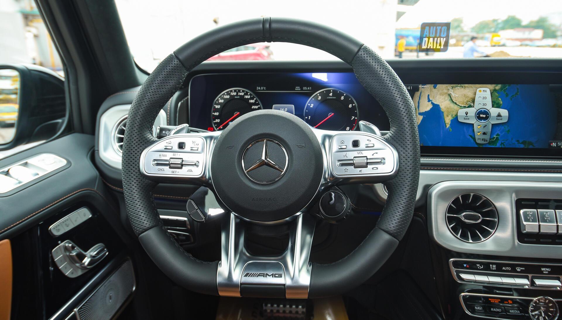 Ảnh chi tiết Mercedes G63 AMG 2021 bản cá nhân hoá giá khoảng 12 tỷ [13]