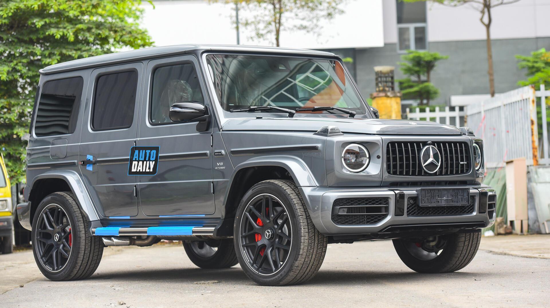 Ảnh chi tiết Mercedes G63 AMG 2021 bản cá nhân hoá giá khoảng 12 tỷ [2]