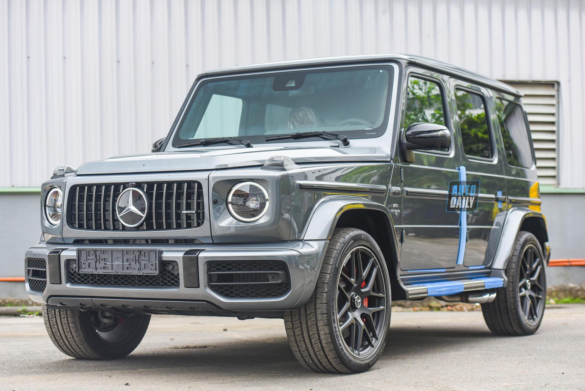 Ảnh chi tiết Mercedes G63 AMG 2021 bản cá nhân hoá giá khoảng 12 tỷ [3]