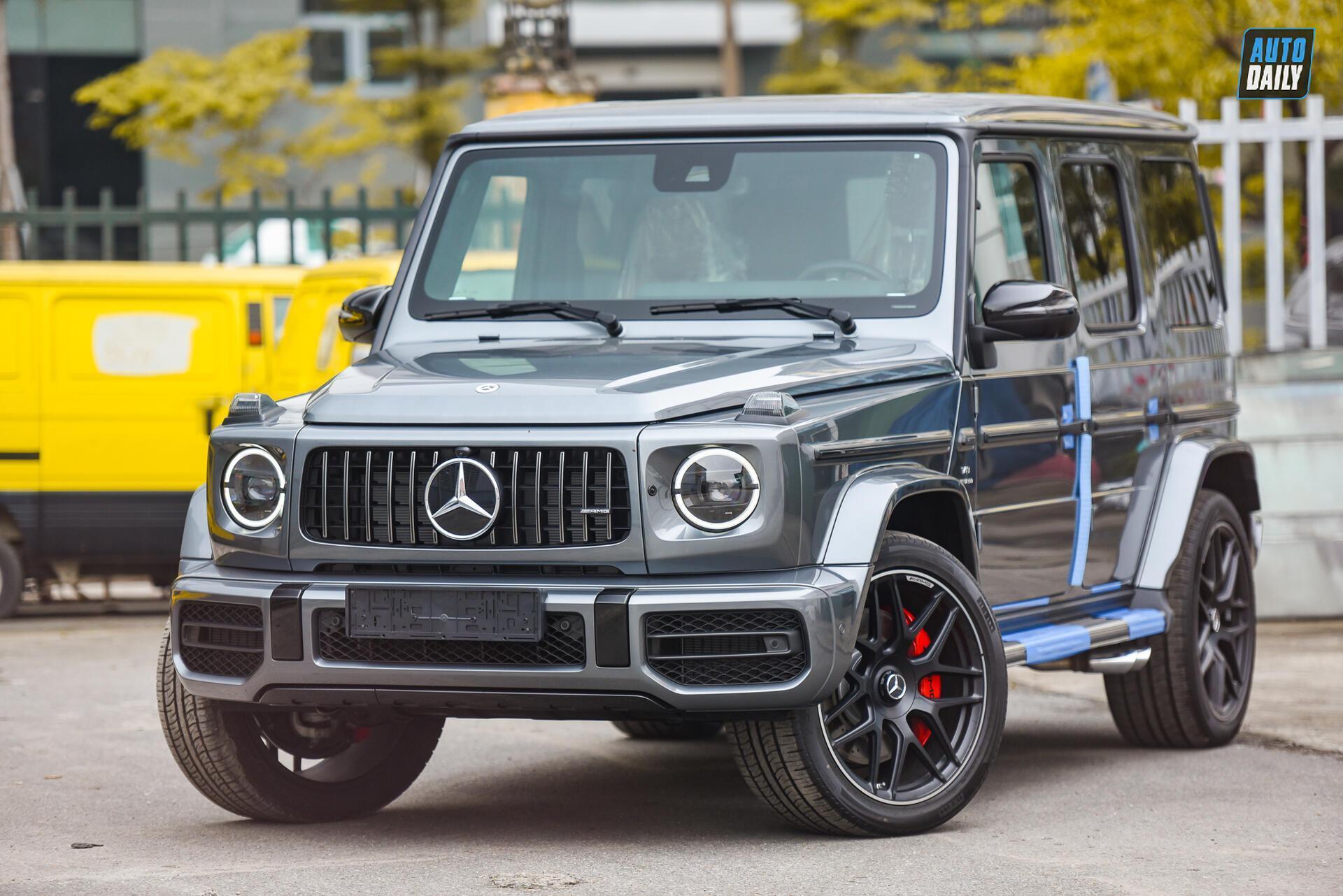 Ảnh chi tiết Mercedes G63 AMG 2021 bản cá nhân hoá giá khoảng 12 tỷ [4]