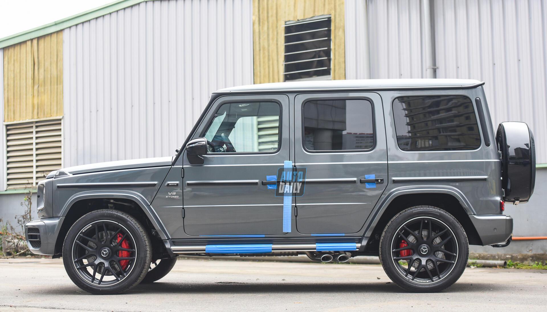 Ảnh chi tiết Mercedes G63 AMG 2021 bản cá nhân hoá giá khoảng 12 tỷ [6]