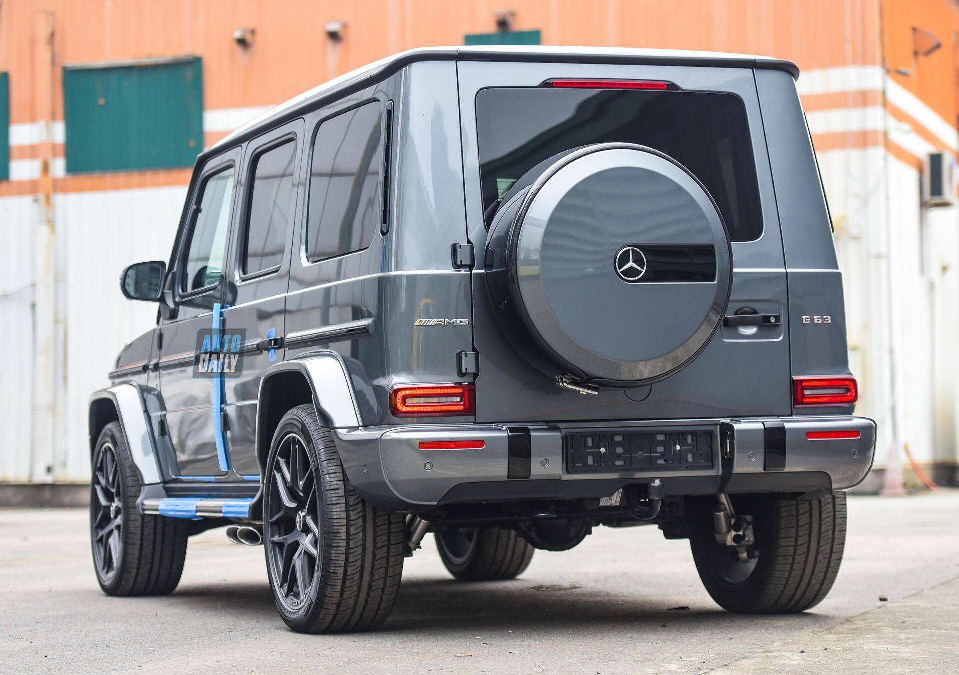 Ảnh chi tiết Mercedes G63 AMG 2021 bản cá nhân hoá giá khoảng 12 tỷ [7]
