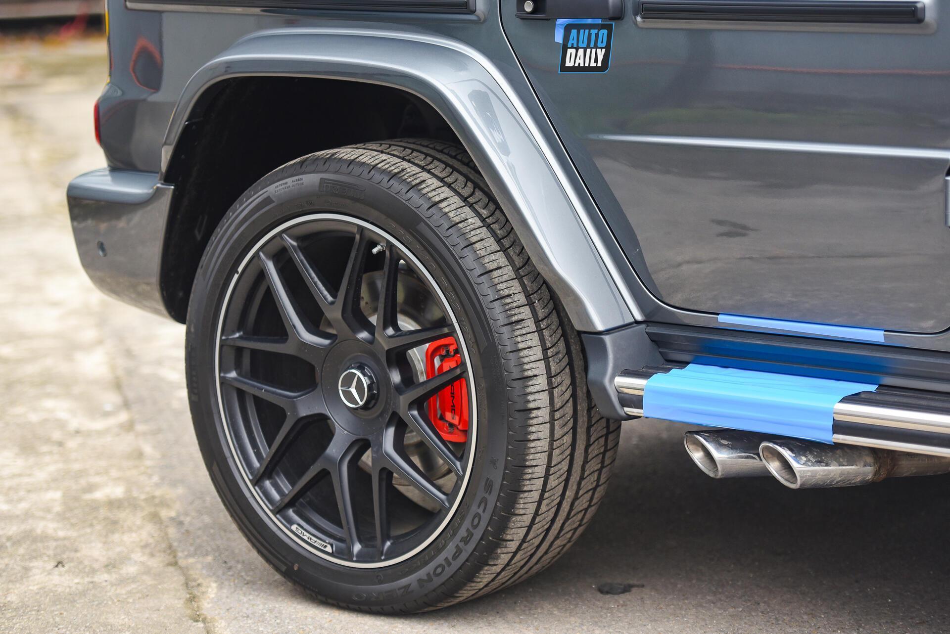 Ảnh chi tiết Mercedes G63 AMG 2021 bản cá nhân hoá giá khoảng 12 tỷ [9]