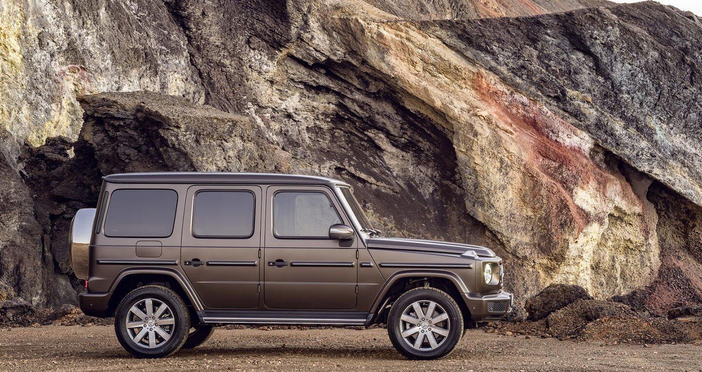 Ảnh chi tiết Mercedes-Benz G-Class 2019 - Hình 11