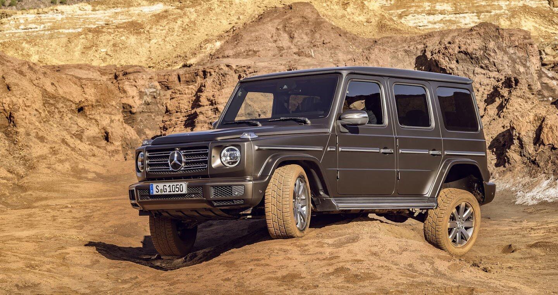 Ảnh chi tiết Mercedes-Benz G-Class 2019 - Hình 12