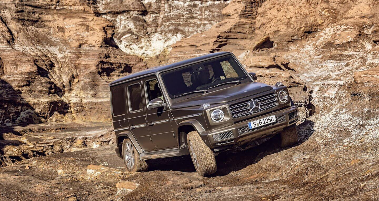 Ảnh chi tiết Mercedes-Benz G-Class 2019 - Hình 13