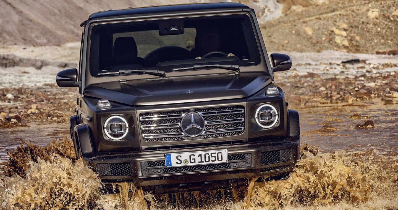Ảnh chi tiết Mercedes-Benz G-Class 2019 - Hình 16