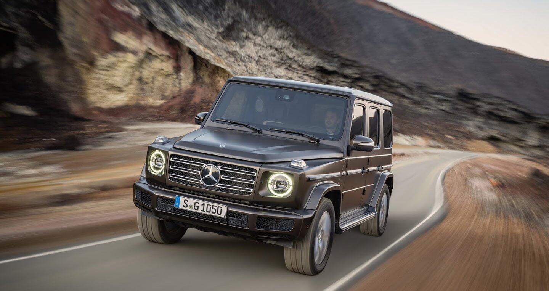 Ảnh chi tiết Mercedes-Benz G-Class 2019 - Hình 20