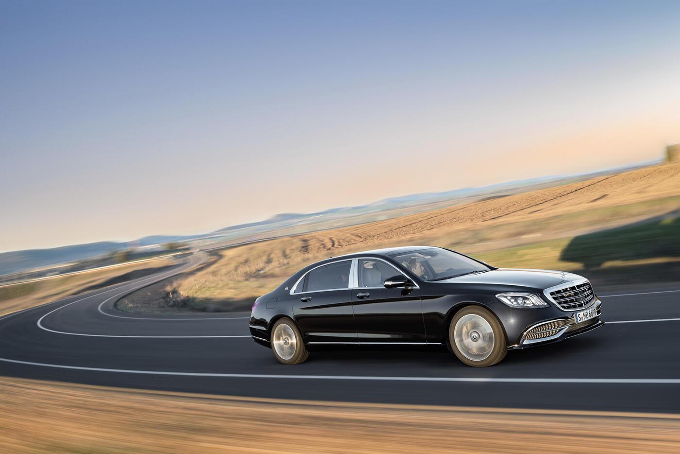 Ảnh chi tiết Mercedes-Benz S-Class 2018 - Hình 2