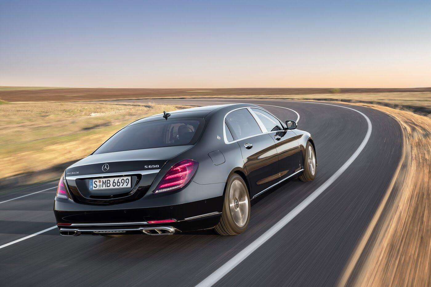 Ảnh chi tiết Mercedes-Benz S-Class 2018 - Hình 3