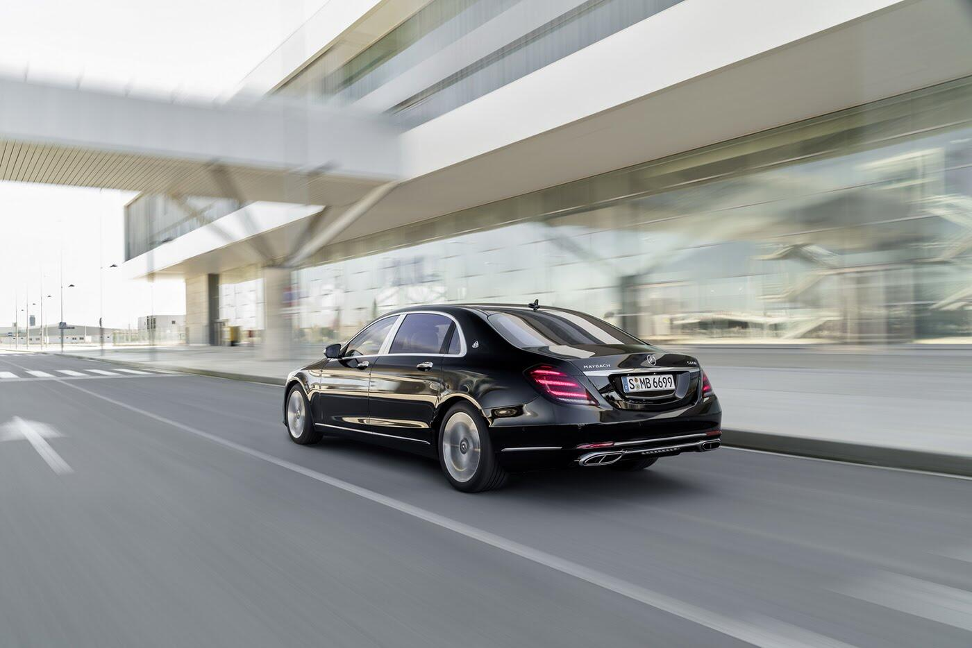 Ảnh chi tiết Mercedes-Benz S-Class 2018 - Hình 5