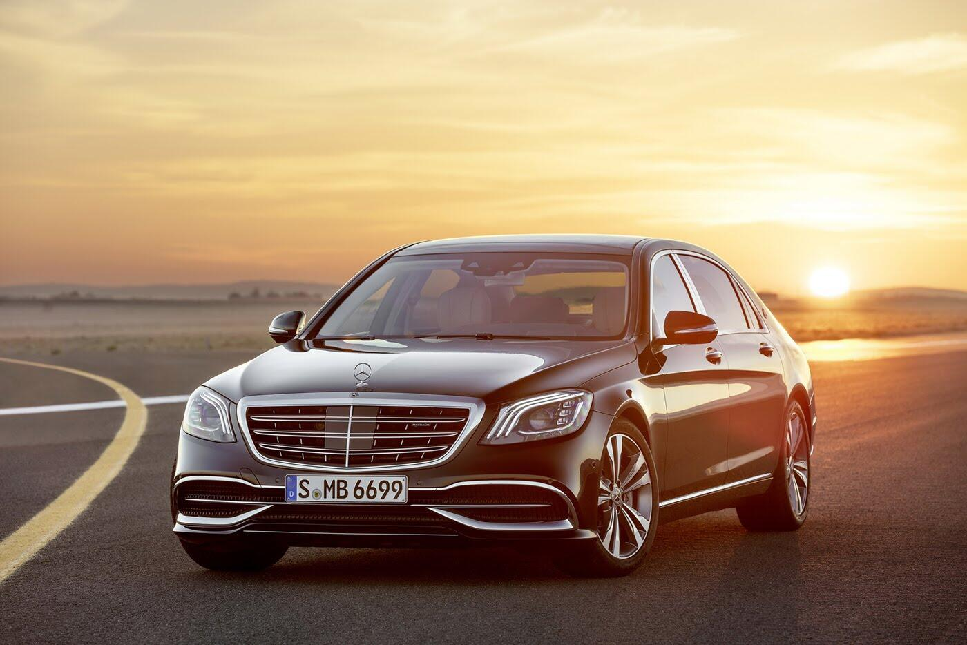 Ảnh chi tiết Mercedes-Benz S-Class 2018 - Hình 6