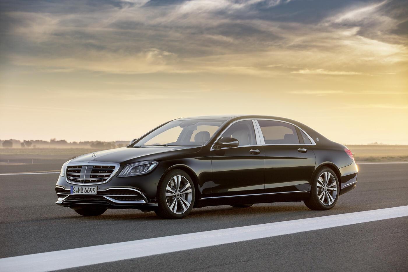 Ảnh chi tiết Mercedes-Benz S-Class 2018 - Hình 7
