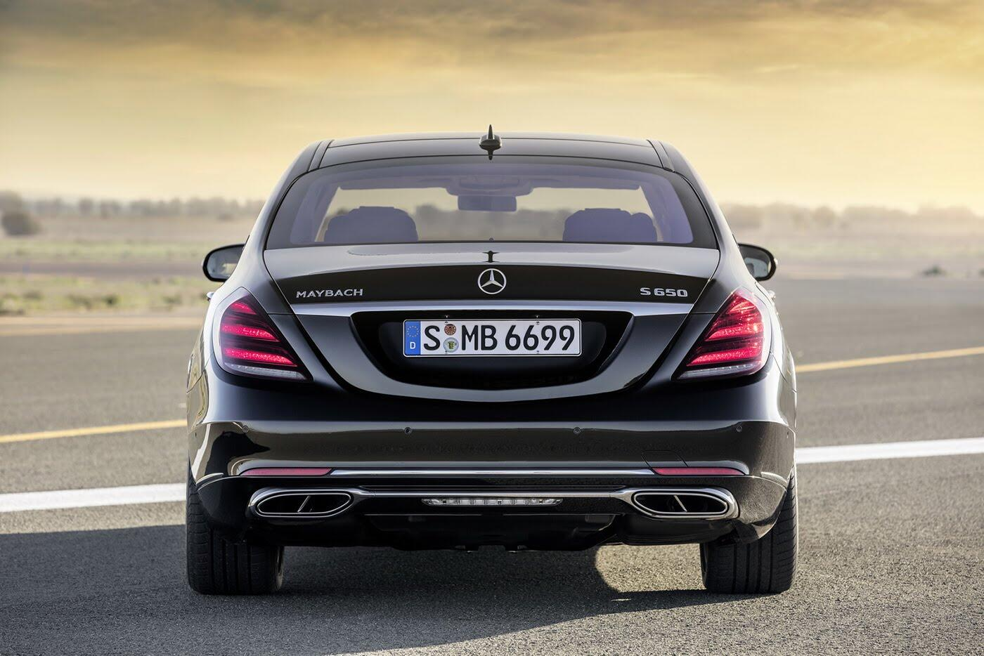 Ảnh chi tiết Mercedes-Benz S-Class 2018 - Hình 10