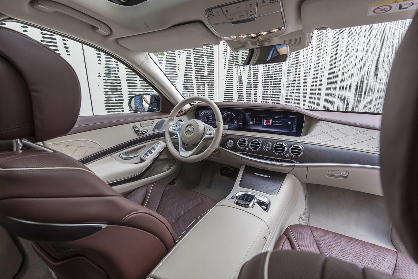 Ảnh chi tiết Mercedes-Benz S-Class 2018 - Hình 22