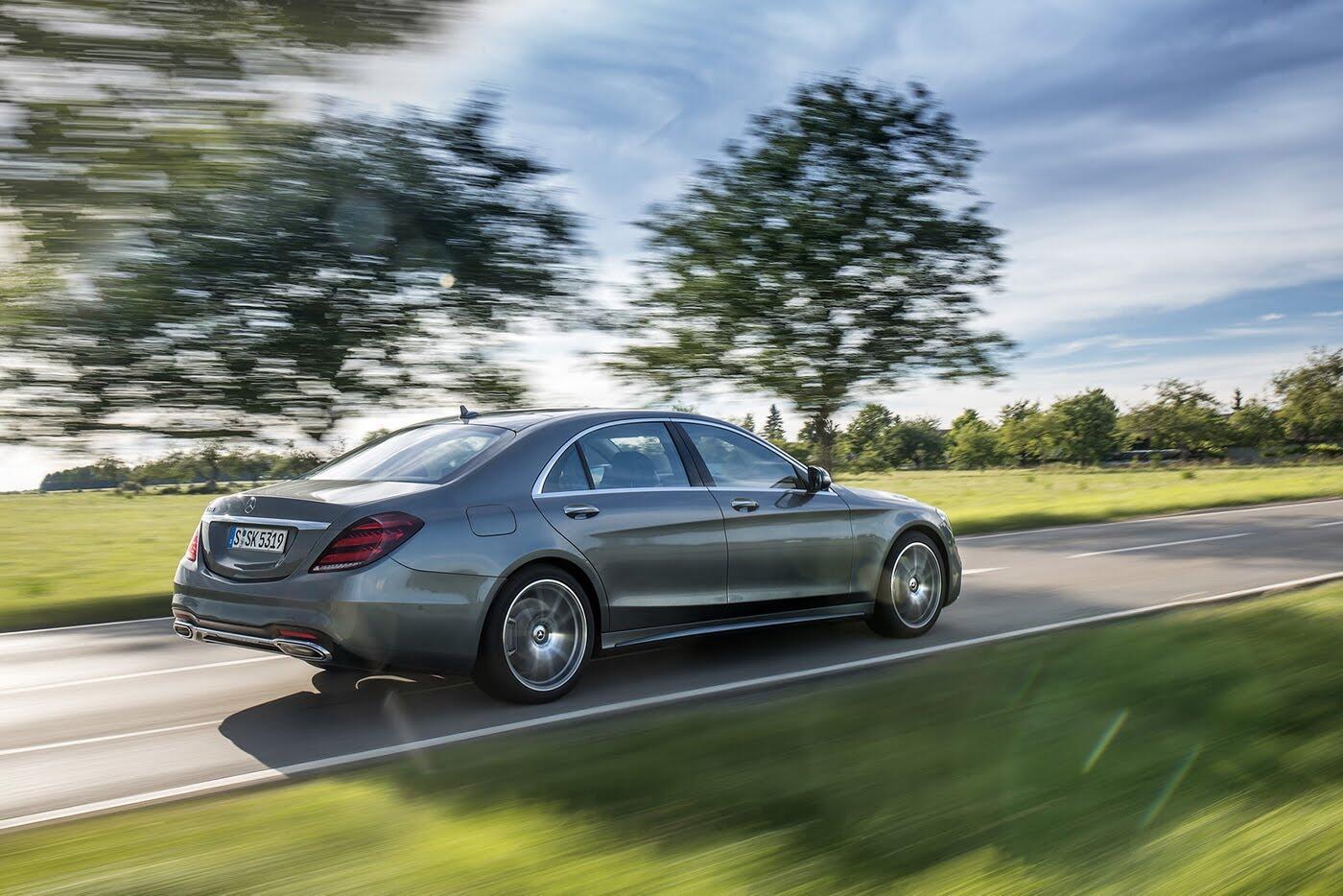 Ảnh chi tiết Mercedes-Benz S-Class 2018 - Hình 27