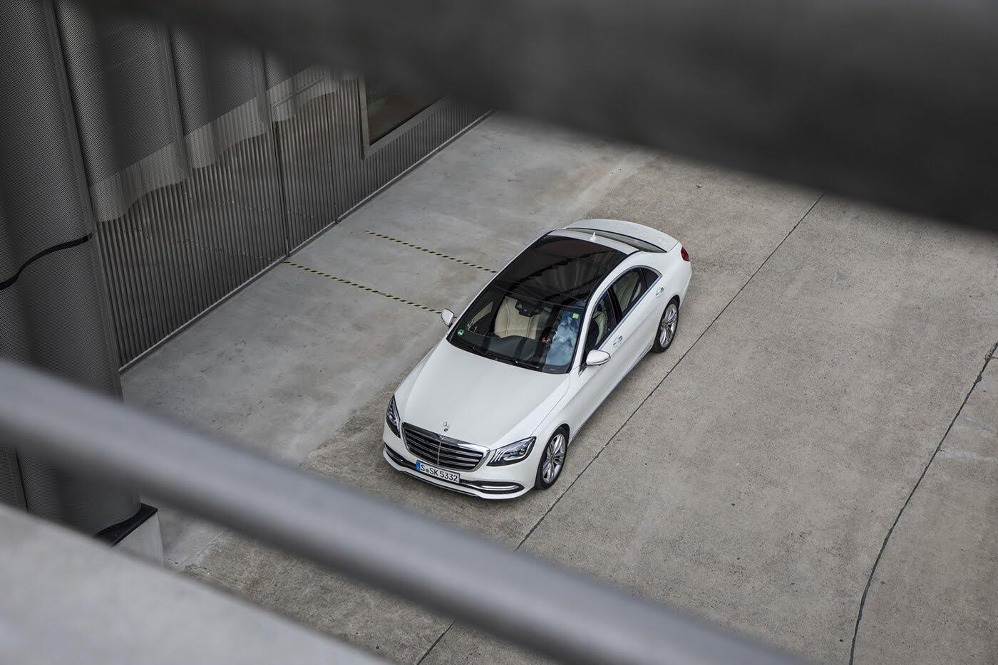 Ảnh chi tiết Mercedes-Benz S-Class 2018 - Hình 36
