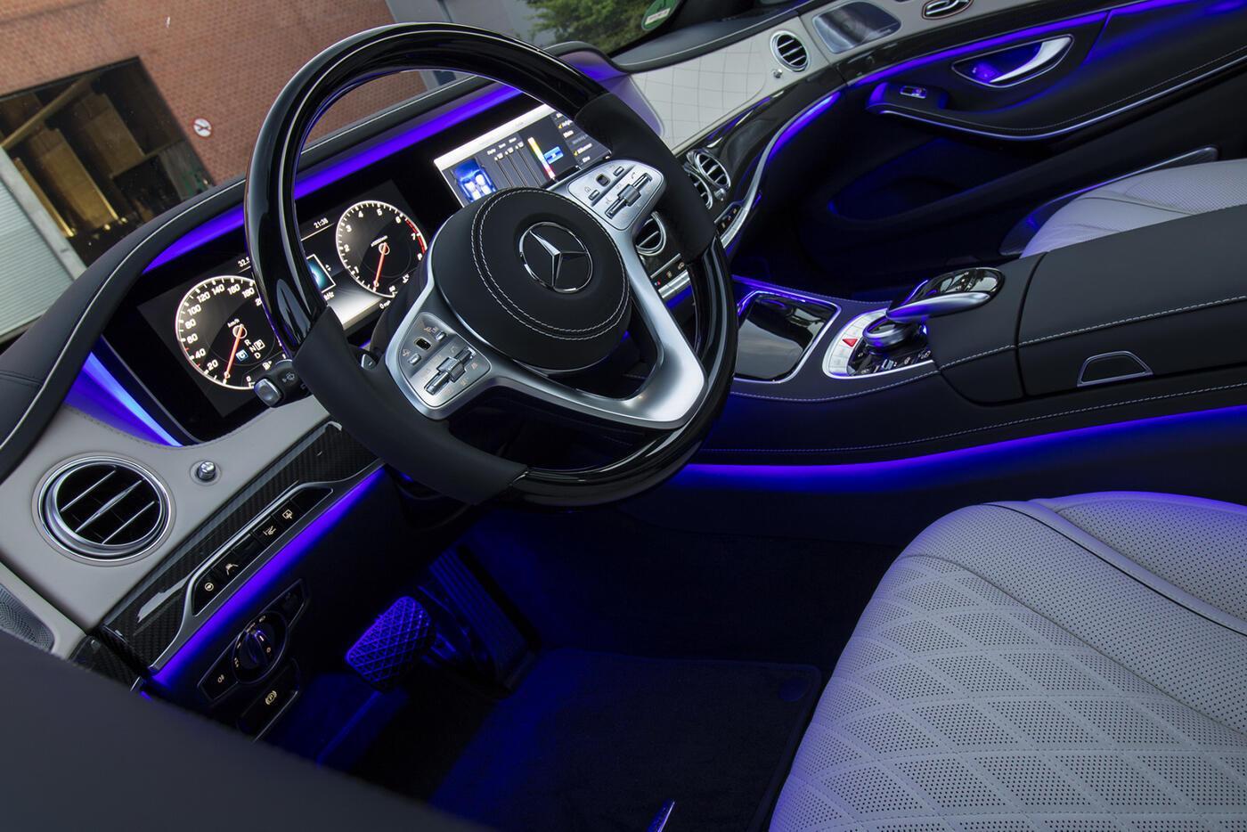 Ảnh chi tiết Mercedes-Benz S-Class 2018 - Hình 39