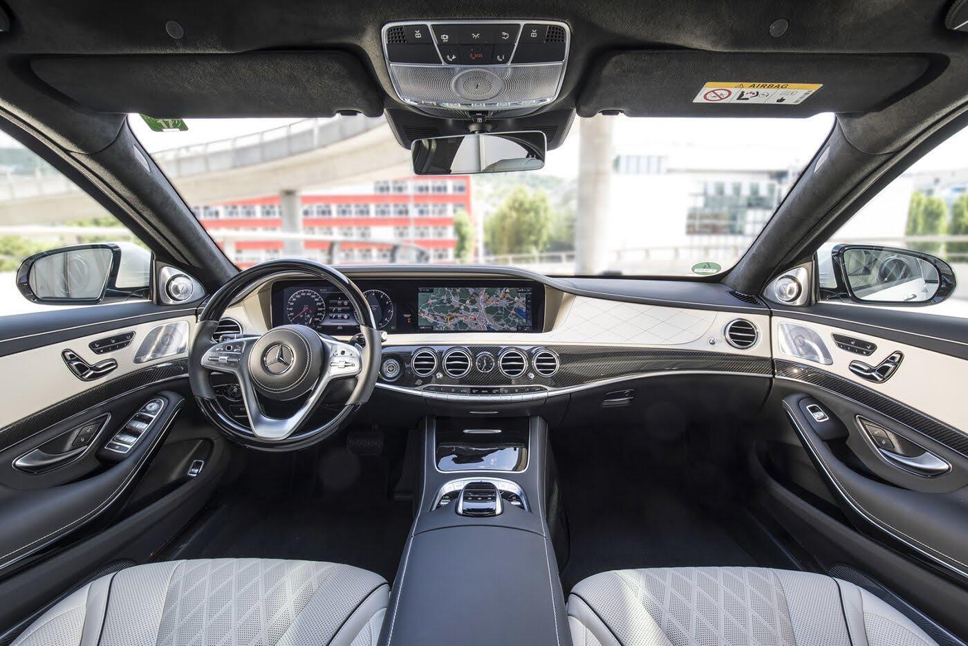 Ảnh chi tiết Mercedes-Benz S-Class 2018 - Hình 40