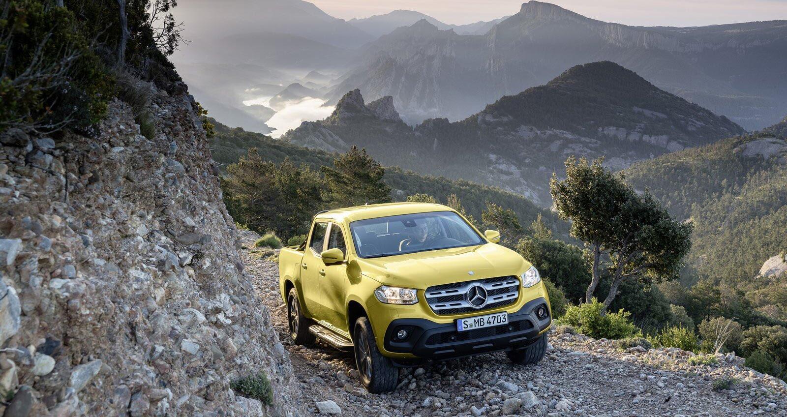 Ảnh chi tiết Mercedes-Benz X-Class - Hình 1