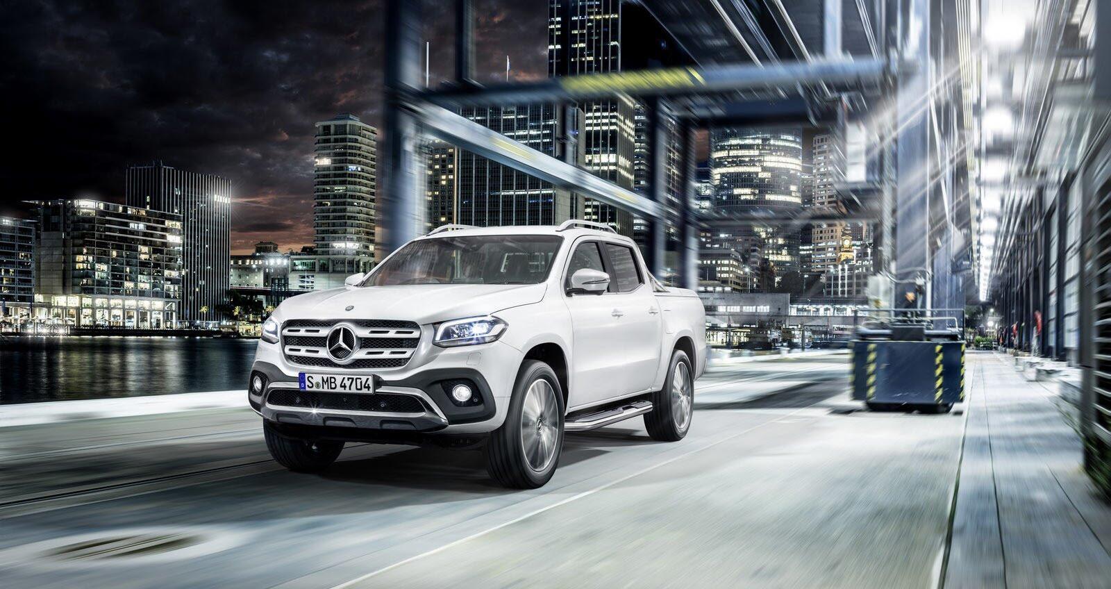 Ảnh chi tiết Mercedes-Benz X-Class - Hình 13