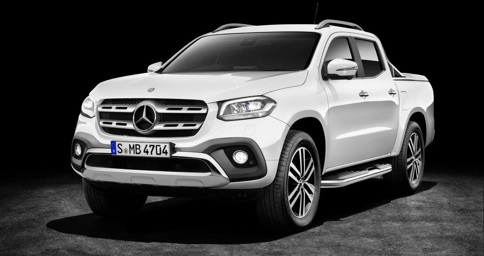Ảnh chi tiết Mercedes-Benz X-Class - Hình 14