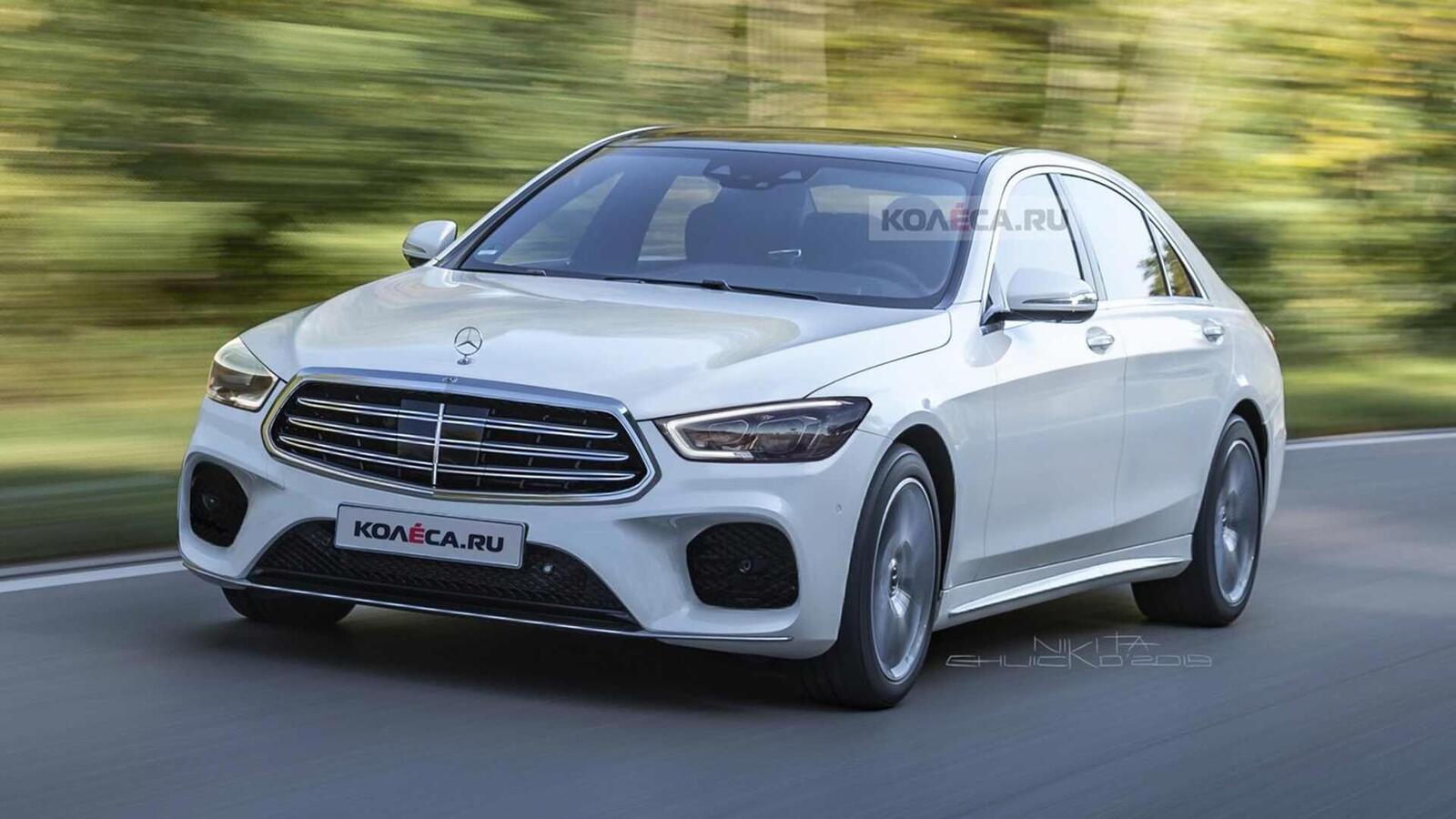 Ảnh render Mercedes-Benz S-Class thế hệ mới; đột phá về thiết kế - Hình 2