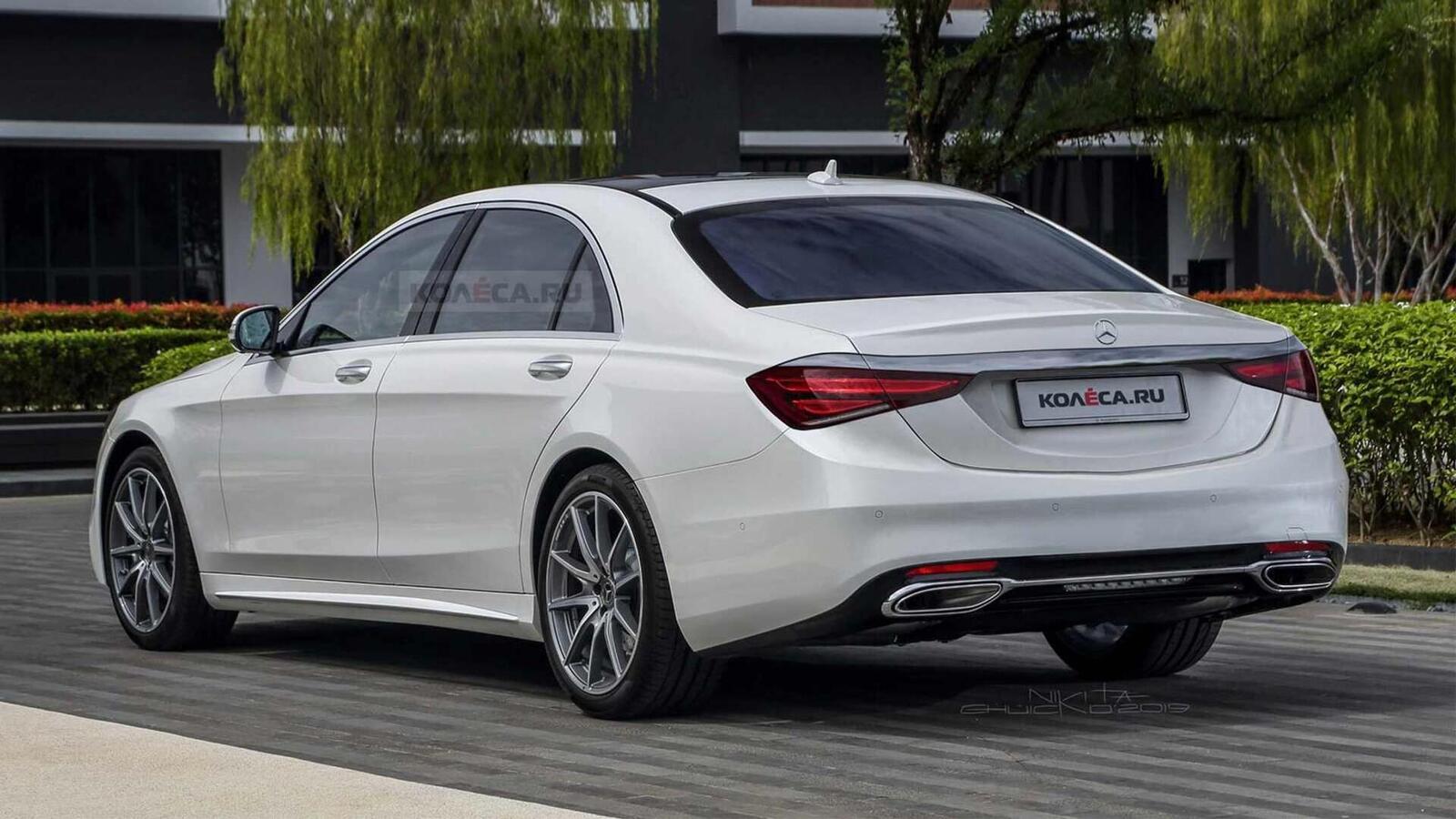 Ảnh render Mercedes-Benz S-Class thế hệ mới; đột phá về thiết kế - Hình 3