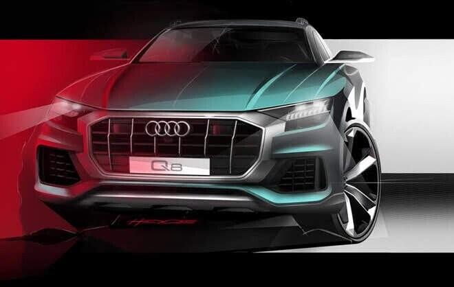 Ảnh siêu SUV Audi Q8 sắp ra mắt - Hình 1