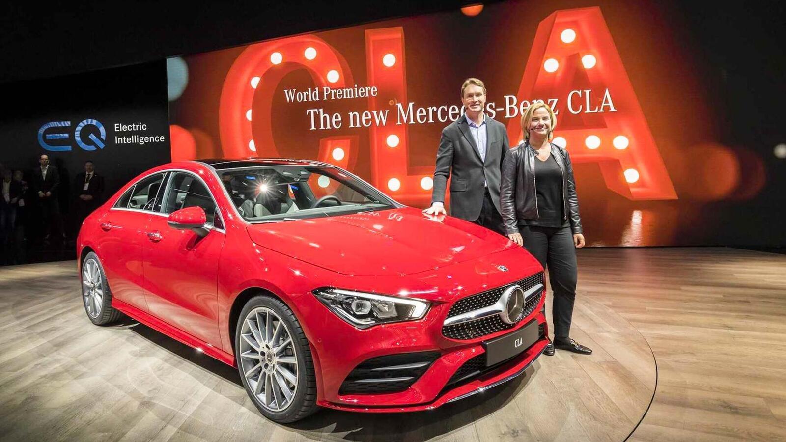 Ảnh thực tế Mercedes-Benz CLA 2020 thế hệ hoàn toàn mới tại Mỹ - Hình 1