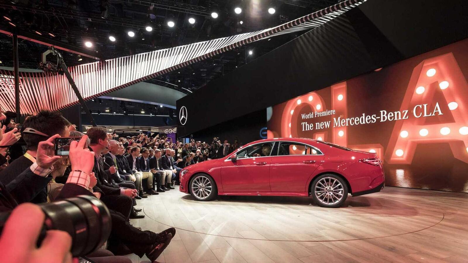 Ảnh thực tế Mercedes-Benz CLA 2020 thế hệ hoàn toàn mới tại Mỹ - Hình 19