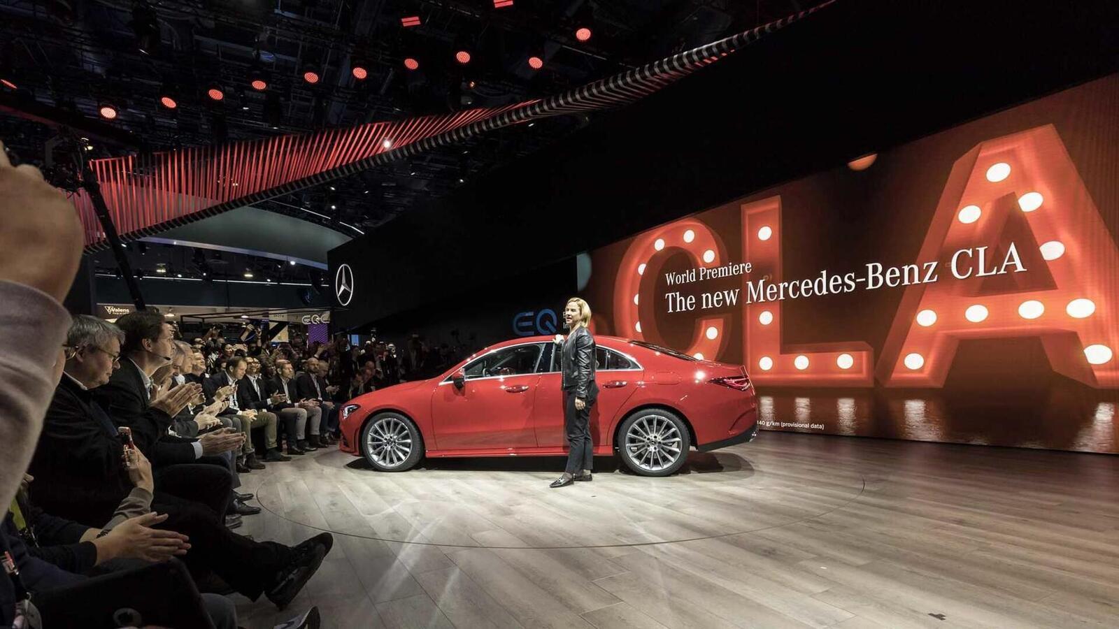 Ảnh thực tế Mercedes-Benz CLA 2020 thế hệ hoàn toàn mới tại Mỹ - Hình 20