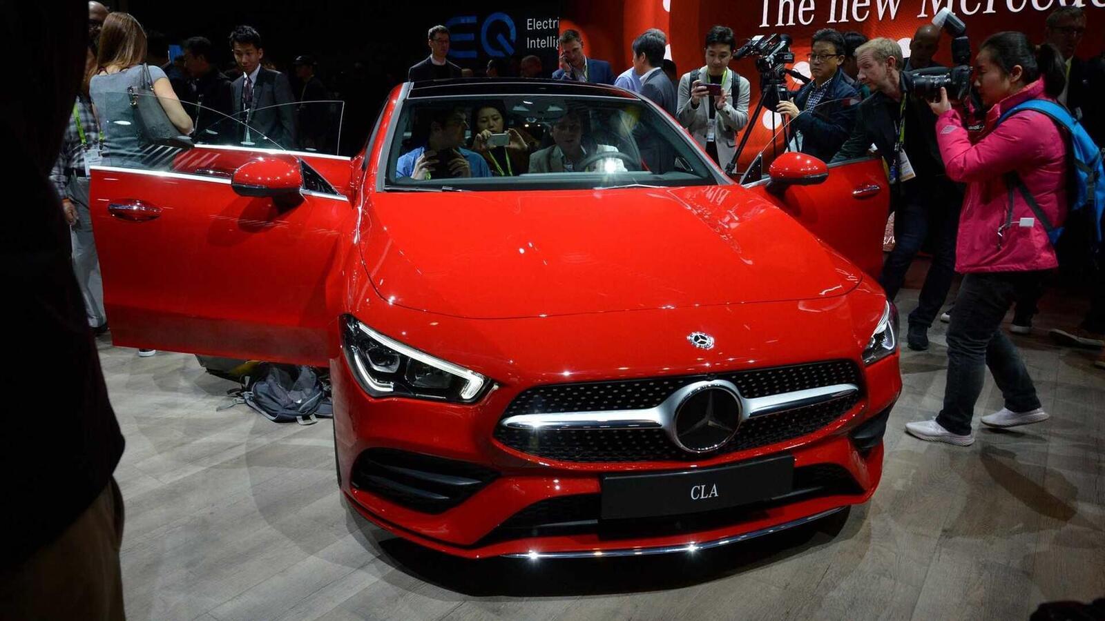 Ảnh thực tế Mercedes-Benz CLA 2020 thế hệ hoàn toàn mới tại Mỹ - Hình 22