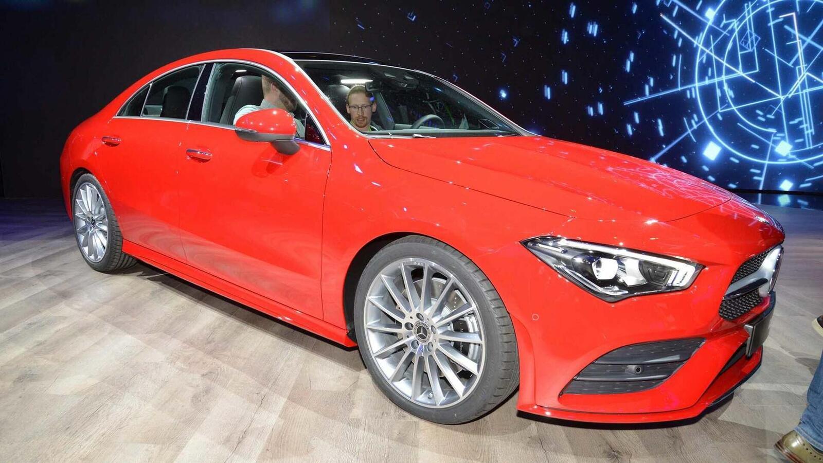 Ảnh thực tế Mercedes-Benz CLA 2020 thế hệ hoàn toàn mới tại Mỹ - Hình 23